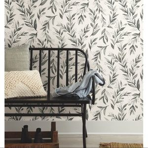 Magnolia Home olive branch Peel n Stick Wallpaper